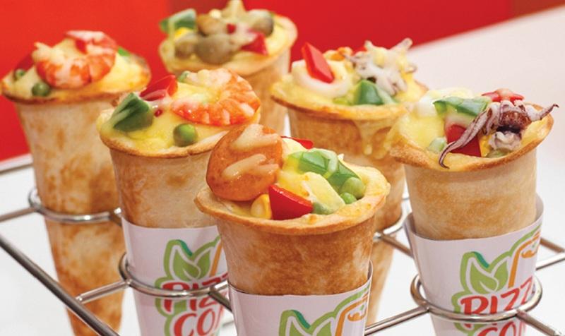 Nhà hàng ngon rẻ ở Hà Nội Pizza Cone