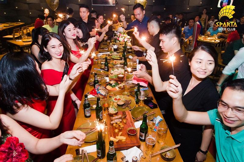 Nhà hàng ngon rẻ ở Hà Nội Sparta Beer Club