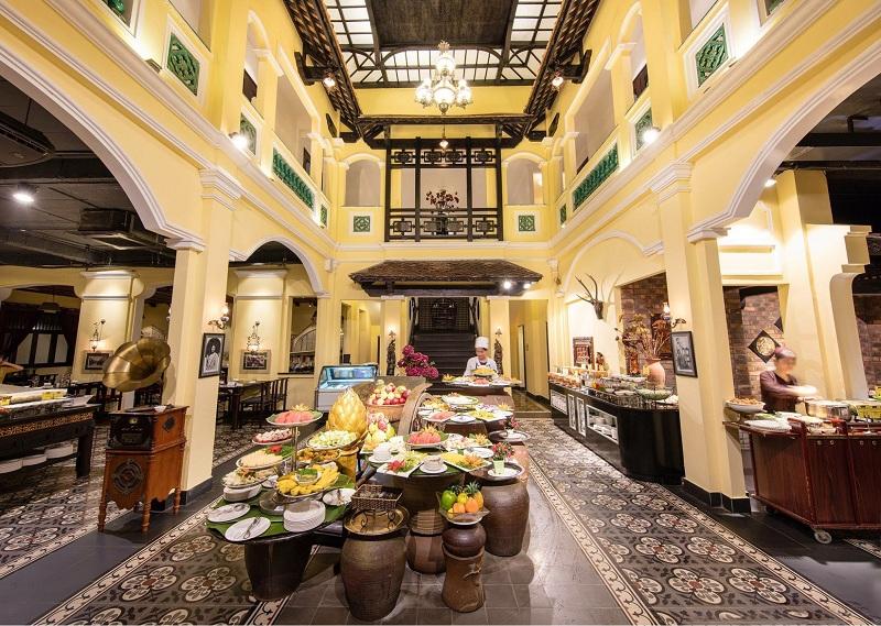 Những nhà hàng nổi tiếng ở Hà Nội Sen Tây Hồ