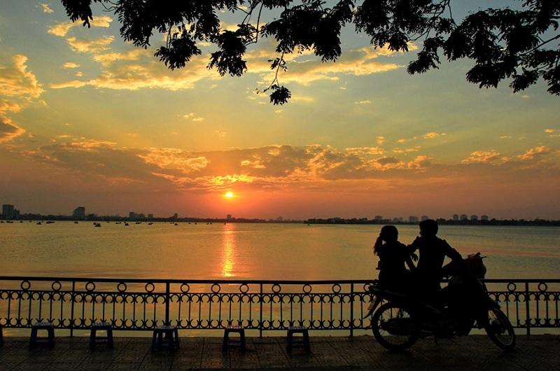 Địa điểm đẹp ở Hà Nội Bến Hàn Quốc