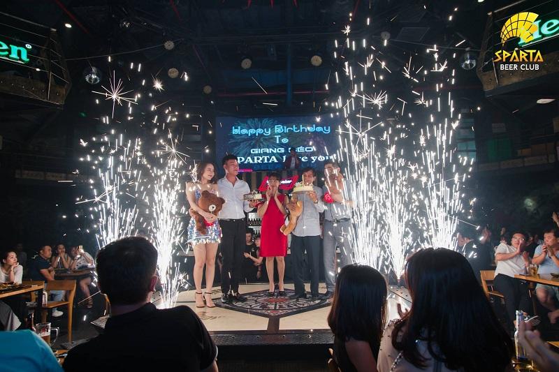 Địa điểm tổ chức sinh nhật tại Hà Nội Sparta Beer Club 14