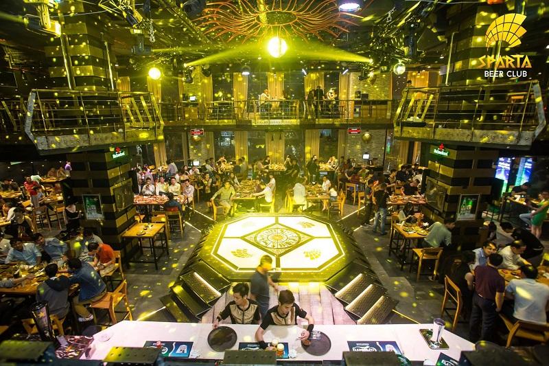 Địa điểm tổ chức sinh nhật tại Hà Nội Sparta Beer Club 2