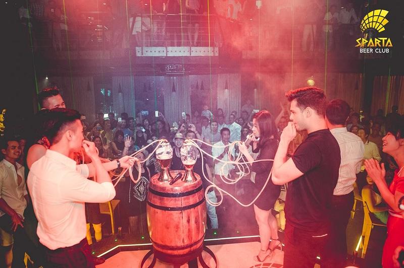 Địa điểm tổ chức sinh nhật tại Hà Nội Sparta Beer Club 7
