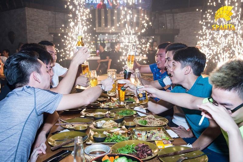 Địa điểm tổ chức sinh nhật tại Hà Nội Sparta Beer Club 8