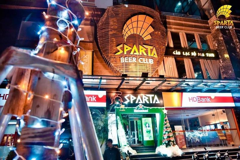 Địa điểm tổ chức sự kiện offline hà nội Sparta Beer Club 1