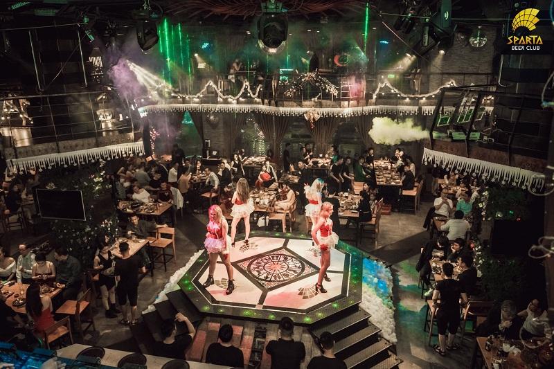 Địa điểm tổ chức sự kiện offline hà nội Sparta Beer Club 6