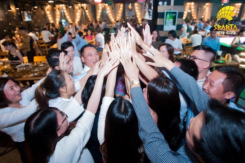 Tiệc tất niên công ty 1