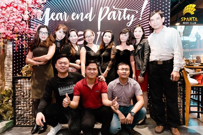 Tiệc tất niên công ty 2